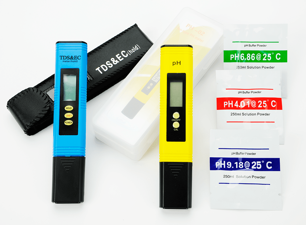Ph Amp Tds Meter Set Water Testing Kits Home Water Test