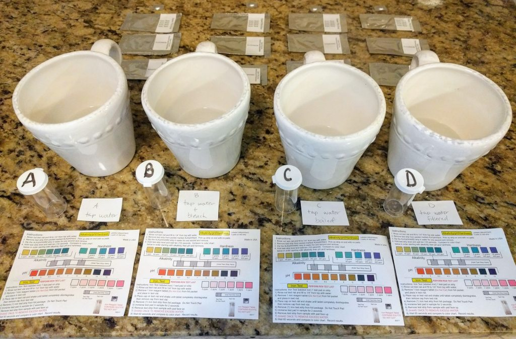 water purification samples
