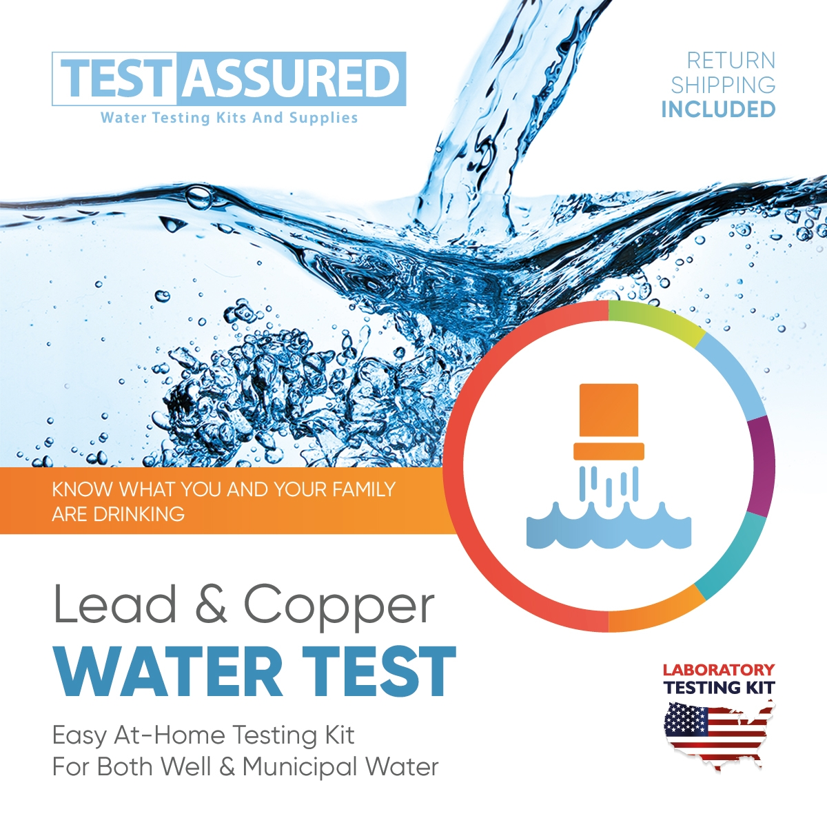 Lead & Copper In Water Lab Test